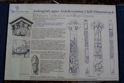 Kilfenora Cathedral and High Crosses Marker image. Click for full size.