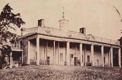 Mount Vernon at the Time of the Ladies Association Purchase image. Click for full size.