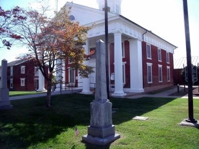 Greene County UDC Monument in Stanardsville. image. Click for full size.