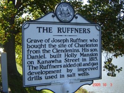 The Ruffners Marker image. Click for full size.
