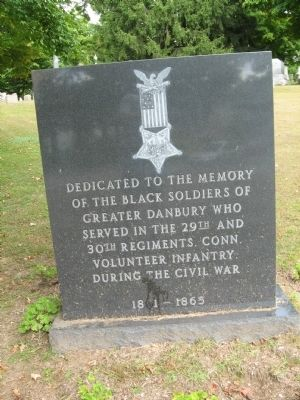 Black Soldiers Memorial Photo, Click for full size