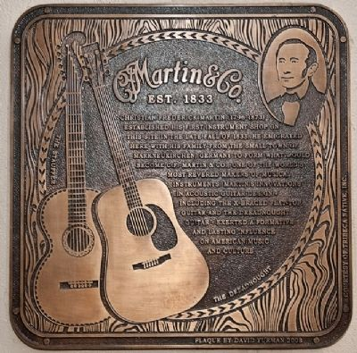 C.F. Martin & Co. Guitars Marker image. Click for full size.
