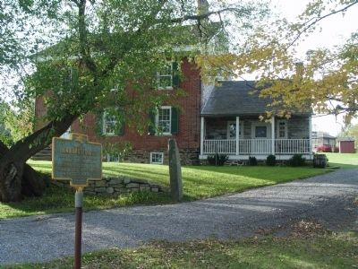 Hendrikus DuBois House & Marker Photo, Click for full size