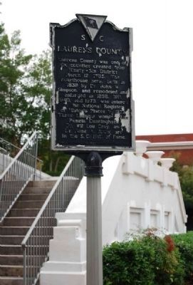 Laurens County Marker Photo, Click for full size