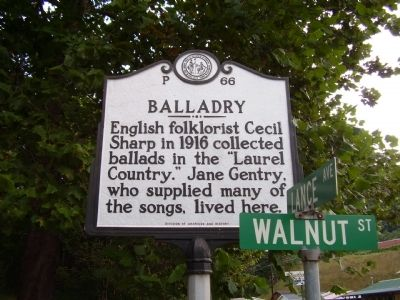 Balladry Marker image. Click for full size.