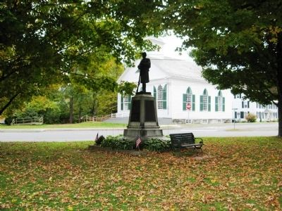 Newfane Civil War Monument image. Click for full size.