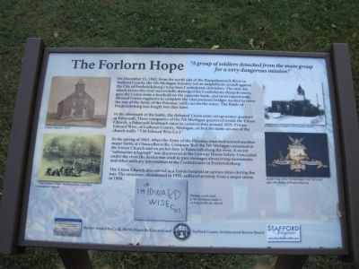 The Forlorn Hope Marker image. Click for full size.