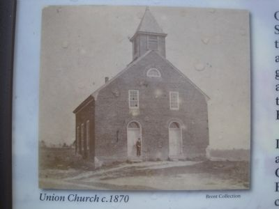 Union Church c.1870 image. Click for full size.