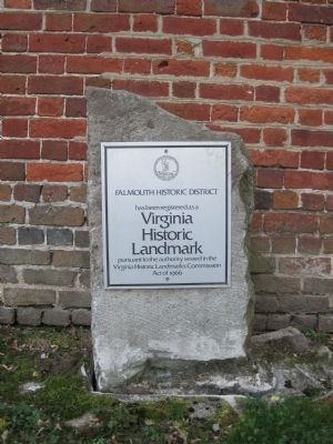 Virginia Historic Landmark Plaque image. Click for full size.