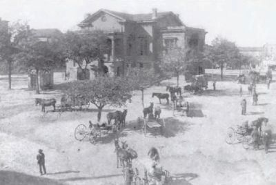 Laurens County Courthouse and Square Photo, Click for full size