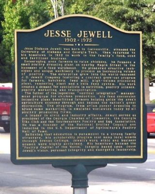 Jesse Jewell Marker image. Click for full size.