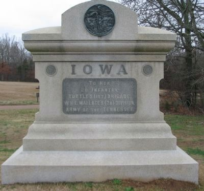 2d Iowa Infantry Monument image. Click for full size.