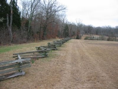 Duncan Field and Sunken Road Photo, Click for full size