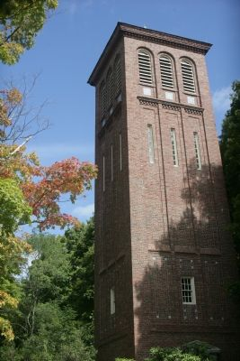 Hingham Memorial Bell Tower image. Click for full size.