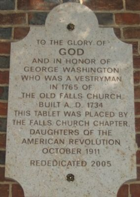 Dedication Stone on the West Face Photo, Click for full size