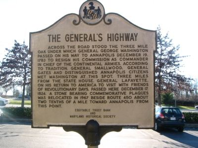 The General's Highway Marker image. Click for full size.