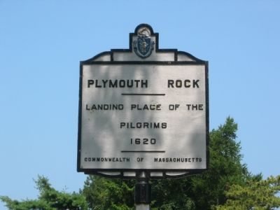 Plymouth Rock Marker image. Click for full size.