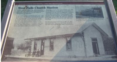 West Falls Church Station Marker Photo, Click for full size
