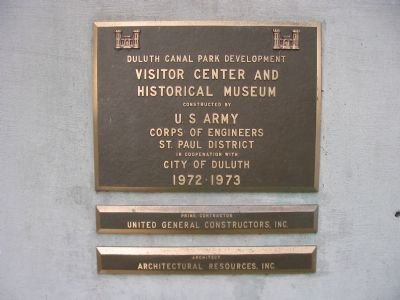 Plaque Near Entrance Photo, Click for full size