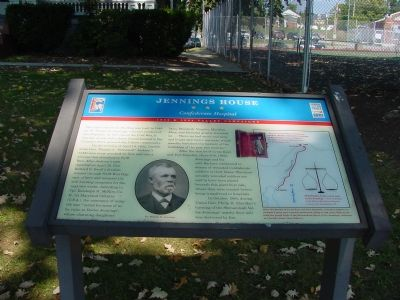 Jennings House Marker Photo, Click for full size