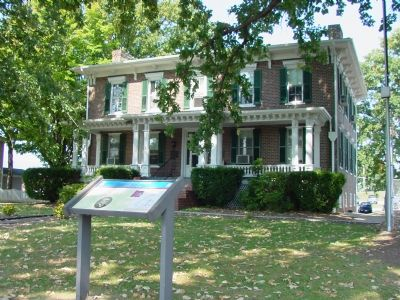 Jennings House and Marker Photo, Click for full size