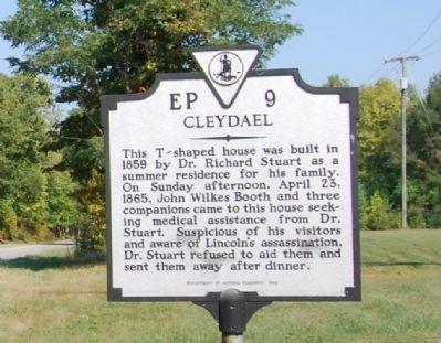 Cleydael Marker image. Click for full size.