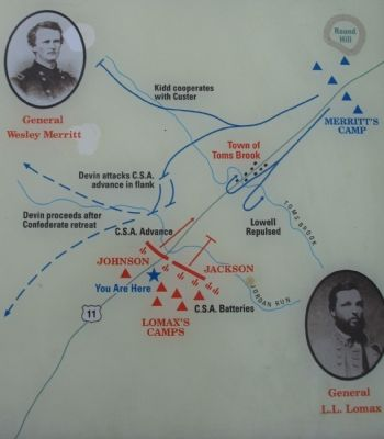 Map of the Battle Photo, Click for full size