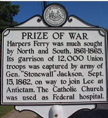 Prize of War Marker image. Click for full size.