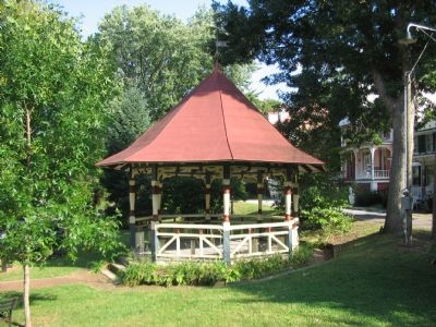The Much Traveled Harpers Ferry Bandstand image. Click for full size.