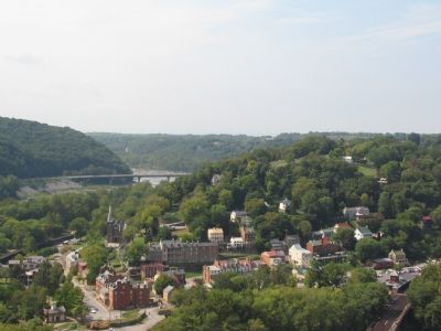 Lower Town Harpers Ferry image. Click for full size.