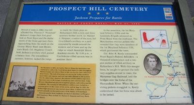 Prospect Hill Cemetery Marker image. Click for full size.