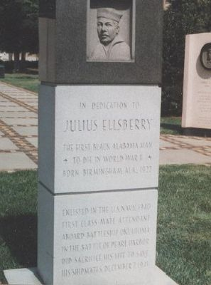 Julius Ellsberry Marker Photo, Click for full size