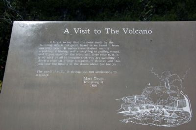 A Visit to The Volcano image. Click for full size.