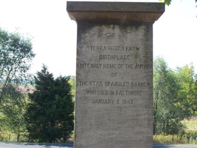 Rear of Monument Photo, Click for full size