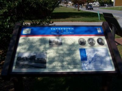 Taneytown Meade Pipe Creek Plan Marker Photo, Click for full size