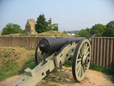 Marker and Cannon Photo, Click for full size