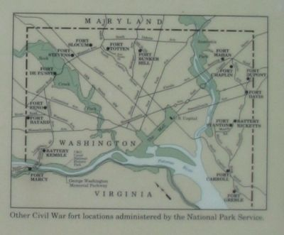 Defenses of Washington Map image. Click for full size.