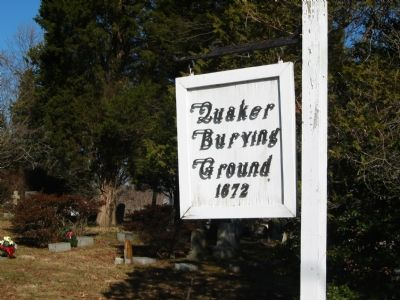 Old Quaker Burying Ground Photo, Click for full size