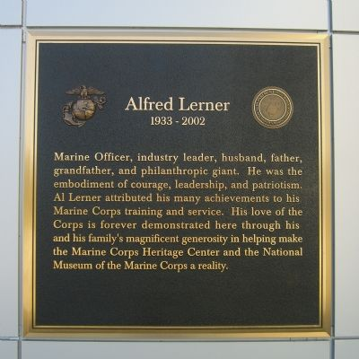 Alfred Lerner Marker Photo, Click for full size