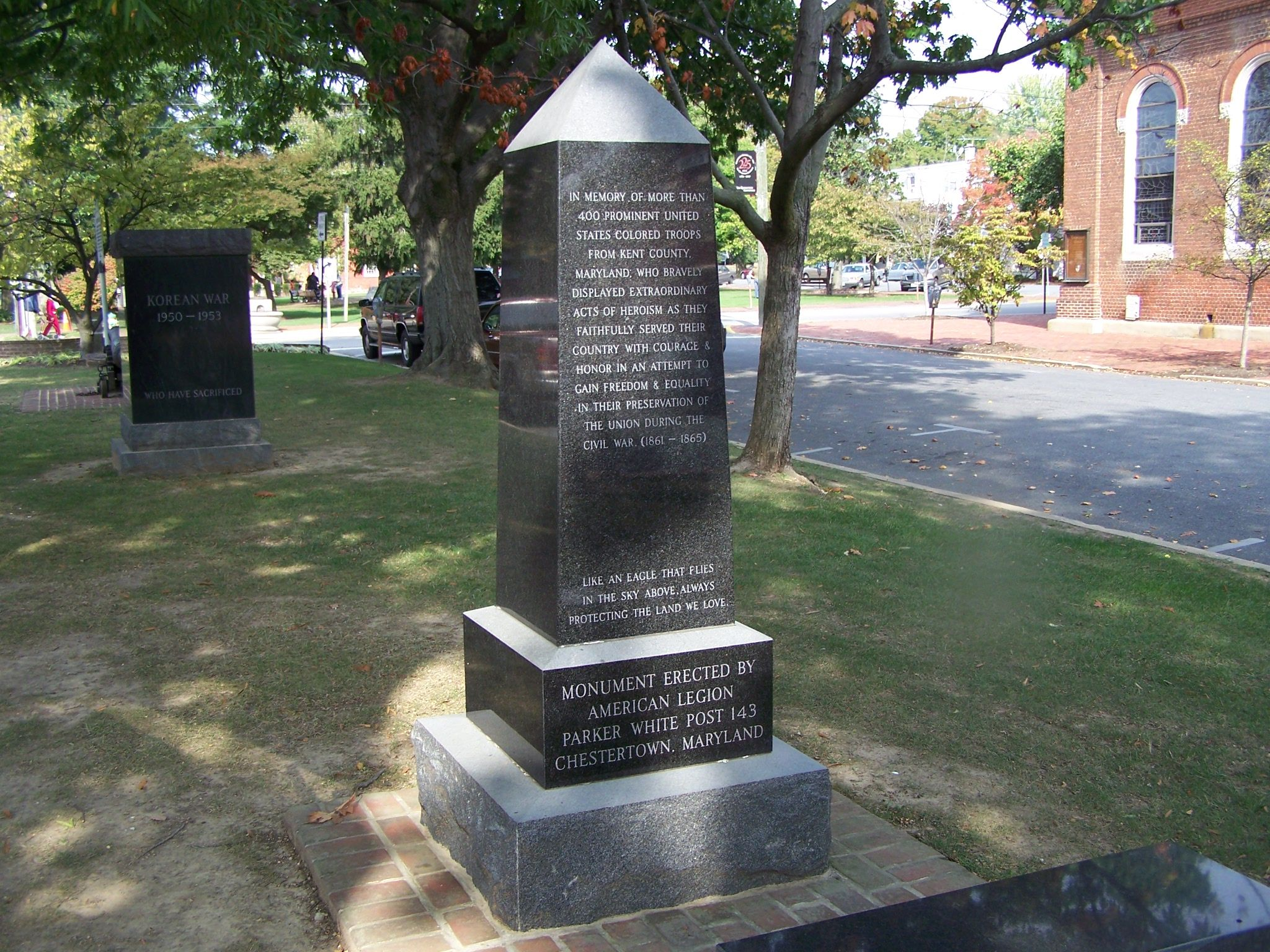United States Colored Troops Monument