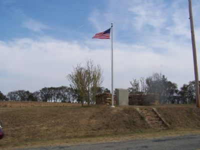 Caulk's Field Monument Photo, Click for full size