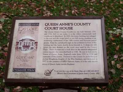 Queen Anne's County Marker at site image. Click for full size.