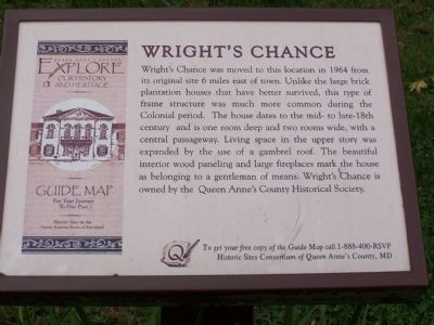 Queen Anne's County Marker at site. image. Click for full size.