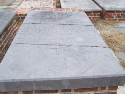 Elizabeth Rowsby's grave. image. Click for full size.