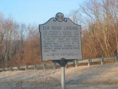 Elk Ridge Landing Marker image. Click for full size.