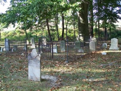 Old Wye Cemetery image. Click for full size.