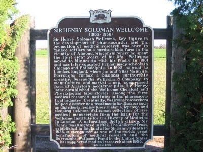 Sir Henry Soloman Wellcome Marker image. Click for full size.