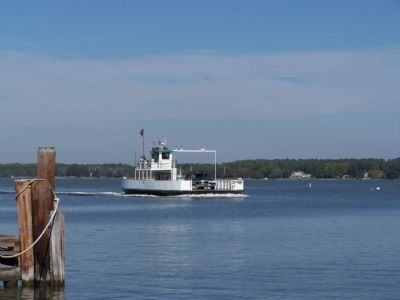Oxford-Bellevue Ferry - The <i>Talbot</i> image. Click for full size.