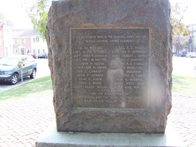 Civil War Monument, Union Face image. Click for full size.