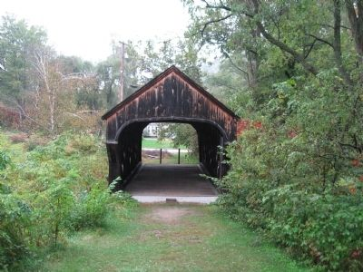 Baltimore Covered Bridge image. Click for full size.